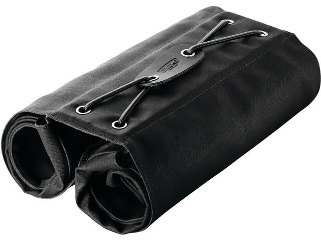 Brooks Brick Lane Roll-Up Fietstassen, black/black
